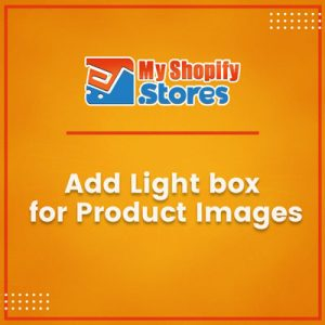 Add Light Box For Product Images