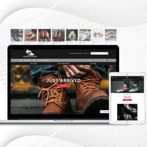 Sidewalk Shoes | Premade Shopify Store for Men | Footwear Collections | Men Shoes & More