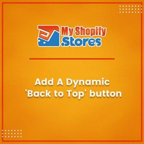 Add A Dynamic Back to Top Button