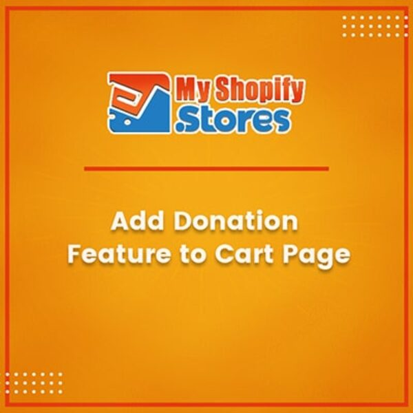 Add Donation Feature to Cart