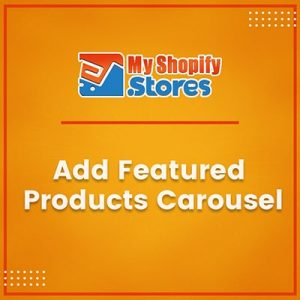 Add Feature Products Carousel