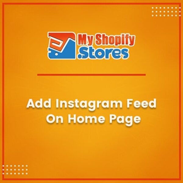 Add Instagram Feed on Home Page
