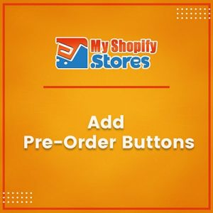 Add Pre Order Buttons