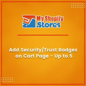 Add Security Trust Badges on Cart Page
