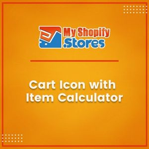 Cart Icon with Item Calculator