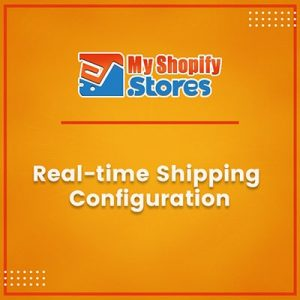 Real time shipping configuration