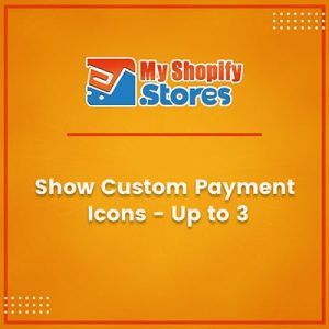 Show custom payment icons - up to 3