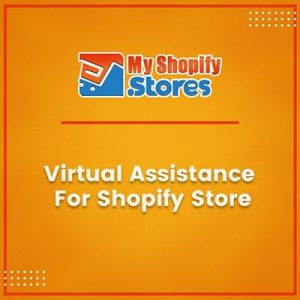 Virtual assistance for shopify store