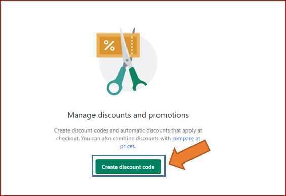 How to create coupons and discount codes step-2
