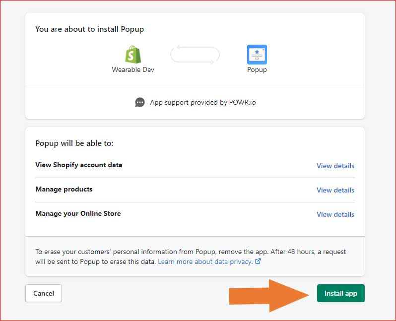 how-to-add-subscription-popup-in-shopify-from-the-app-and-from-theme-step-8