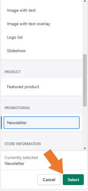 how-to-enable-footer-newsletter-form-and-meta-descriptions-Step-5