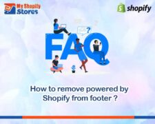 How to remove powered by Shopify from footer?