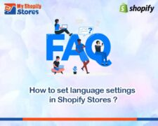 How to set language settings in Shopify?