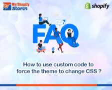 How to use custom code to force the theme to change CSS?