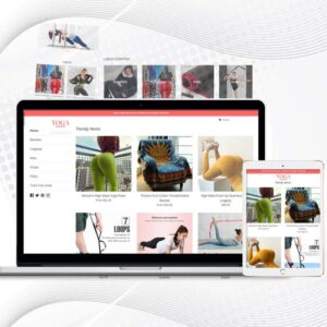 Yoga Mash | Premade Shopify Store for Women | Multi Product Store