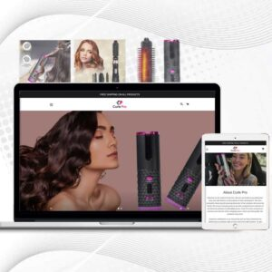 Curle Pro | Premade Shopify Store for Women | Single product Store