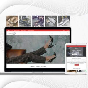 Orbit Shoes | Premade Shopify Store for Men | Multi Product Store