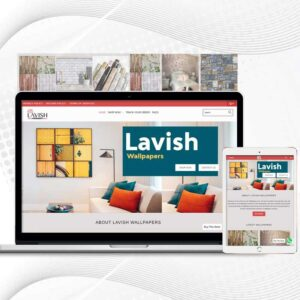 Lavish Wallpapers | Premade Shopify Store | Multi Product Store