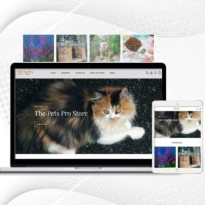 The Pets Pro | Premade Shopify Store for Pets | Multi Product Store