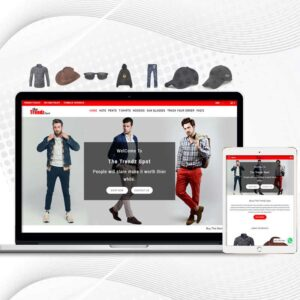 The Trendz Spot | Premade Shopify Store for Men | Multi Product Store