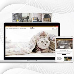 Cat Tunnel Bed | Premade Multi Products Shopify Store