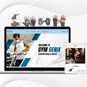 Gym Genix | Premade Multi Products Shopify Store