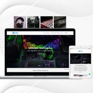 Ultimate Gaming Co | Premade Multi Products Shopify Store