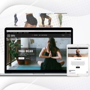 Yoga Delux | Multi Products Shopify Store for Yoga